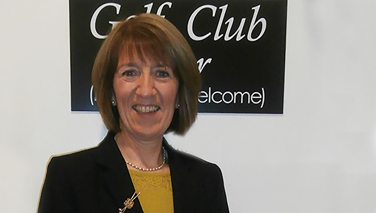 The new Lady Captain for 2015 at Letterkenny Golf Club, Margo Bi